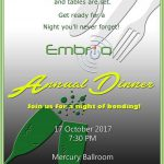 Annual Dinner Invitation